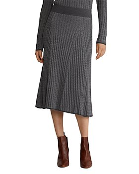 Ralph Lauren - Ribbed Wool Skirt