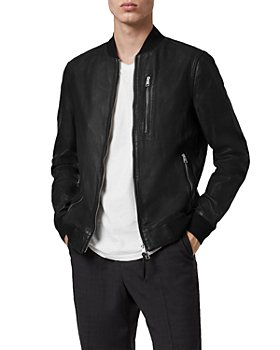 ALLSAINTS - Boyton Leather Bomber Jacket