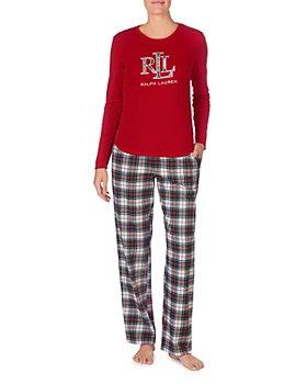 Ralph Lauren - Logo Plaid Gift Pajama Set