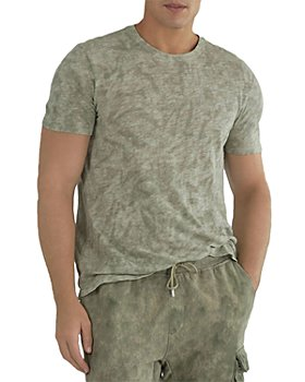 ATM Anthony Thomas Melillo - Cotton Slub Abstract Camo Tee