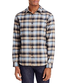 Vince - Slim Fit Plaid Shirt