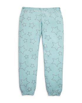 CHASER - Girls' Glitter Star Jogger Pants - Little Kid