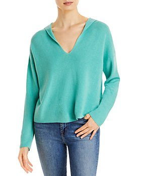 Eileen Fisher - Hooded Boxy Sweater