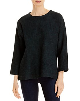 Eileen Fisher - Tweed Boxy Top
