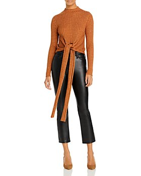 Significant Other - Goldie Tie Front Sweater