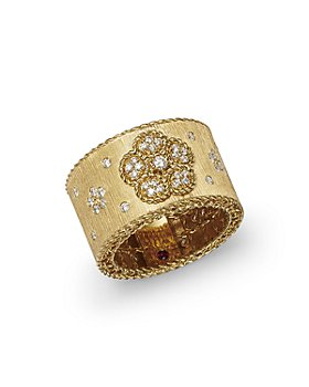 Roberto Coin - 18K Yellow Gold Daisy Lux Diamond Ring - 100% Exclusive