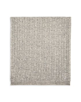 Sofia Cashmere - Unisex Cable Knit Cashmere Baby Blanket