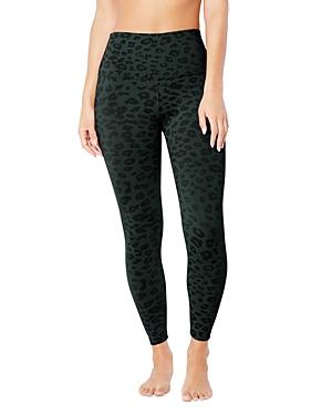 Beyond Yoga High-Rise Leopard Print Midi Leggings-Women