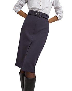 Gerard Darel - Michela Midi Pencil Skirt