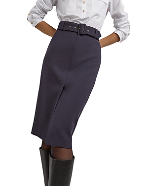 Michela Midi Pencil Skirt