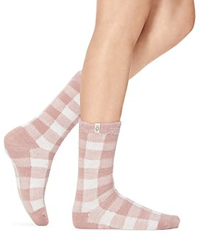 UGG® - Vanna Check Fleece-Lined Socks
