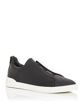 Ermenegildo Zegna - Men's Slip On Sneakers