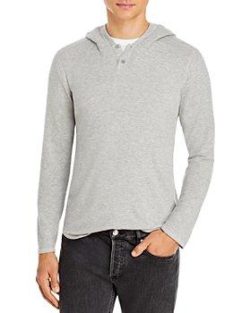 Velvet by Graham & Spencer - Cozy Hooded Jersey Sweater