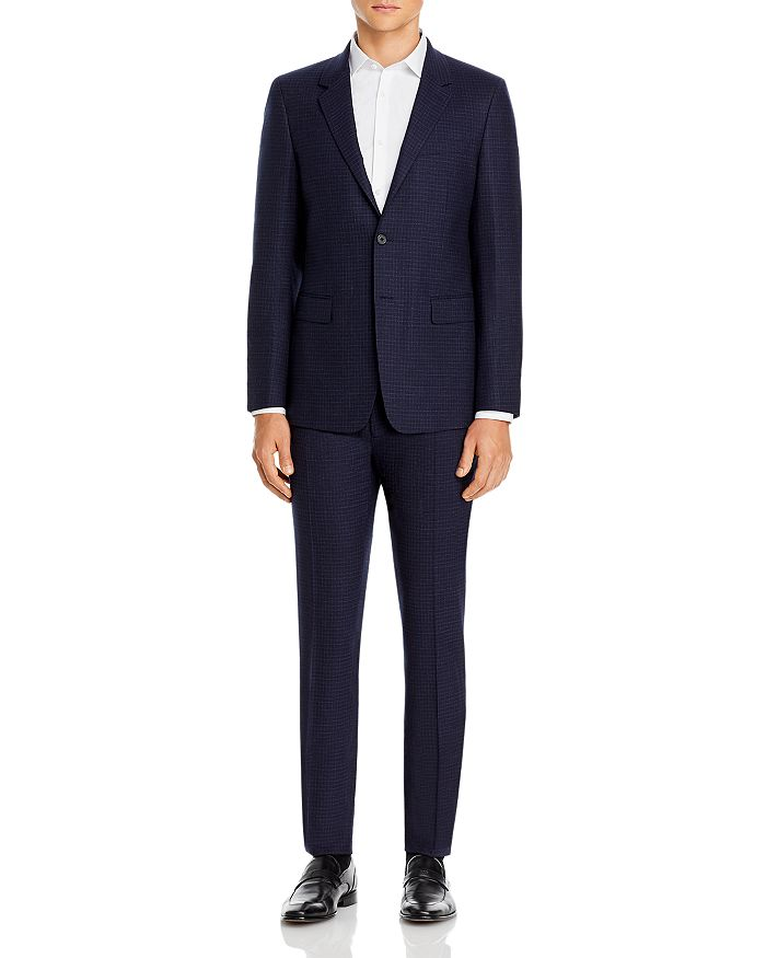 Theory - Micro Check Slim Fit Suit Separates