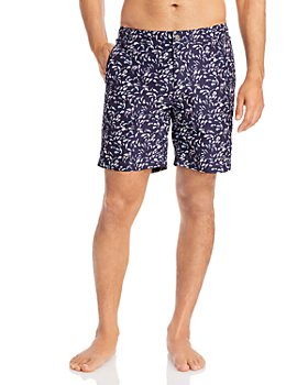 Onia - Calder Fish Print, Fixed Waist Swim Trunks