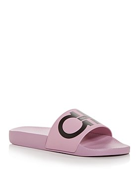 Salvatore Ferragamo - Women's Groovy Gancini Slide Sandals