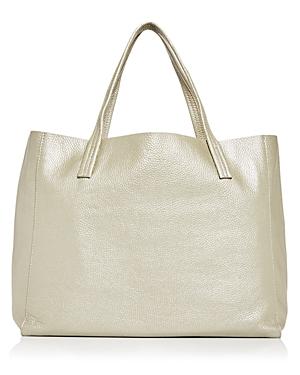 Kurt Geiger London Violet Leather Tote-Handbags