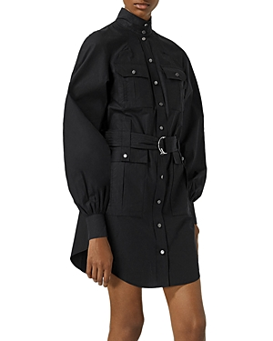 The Kooples BELTED SHIRTDRESS
