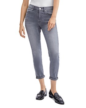 7 For All Mankind - Josefina Skinny Ankle Jeans in Cherg No