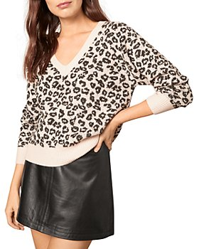 cupcakes and cashmere - Monroe Animal Print Sweater