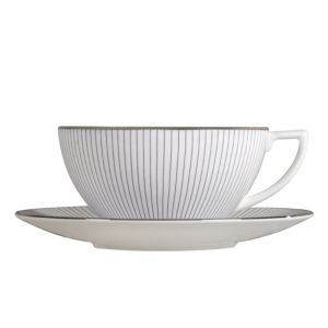 Jasper Conran at Wedgwood Blue Pinstripe Tea Saucer