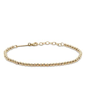 Zoë Chicco - 14K Yellow Gold Heavy Metal Beaded Chain Bracelet