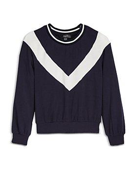 AQUA - Girls' Chevron Sweatshirt, Big Kid - 100% Exclusive