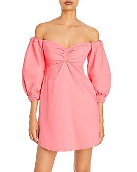 A.L.C. - Mila Off The Shoulder Mini Dress