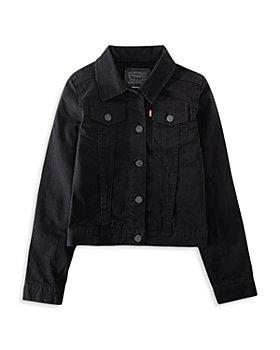 Levi's - Girls' Cotton-Blend Denim Trucker Jacket - Big Kid