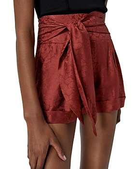 The Kooples - Jacquard Satin Shorts