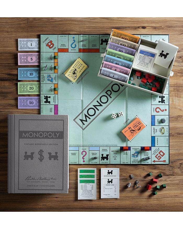 Winning Solutions - Monopoly Vintage Bookshelf Edition