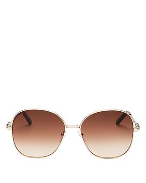 Salvatore Ferragamo Women's Square Sunglasses, 61mm