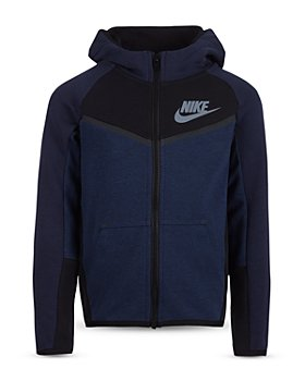Nike - Boys' Color Block Tech Fleece Zip Hoodie - Little Kid