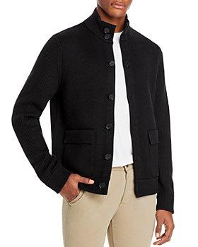 Vince - Slim Fit Merino Sweater Jacket