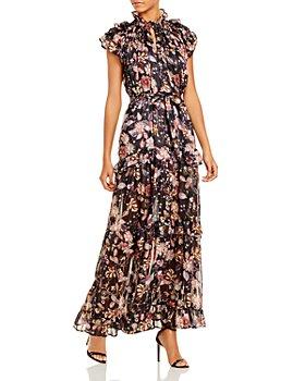 Sabina Musayev - Gia Ruffled Maxi Dress