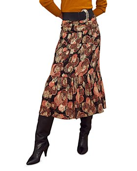 ba&sh - Heidi Printed Midi Skirt
