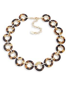 "Ralph Lauren - Circle Link Necklace, 16"""