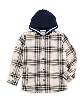Sovereign Code - Boys' Dayton Hooded Plaid Shirt - Little Kid, Big Kid