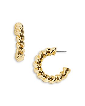 BAUBLEBAR - Twizzler Hoop Earrings