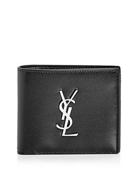 Saint Laurent - Leather Bi Fold Wallet & Card Case