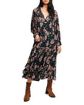 Free People - Feeling Groovy Floral Maxi Dress