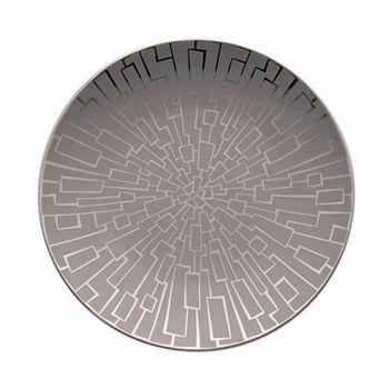 "Rosenthal - ""Tac 02 Skin Platinum"" Bread & Butter Plate"
