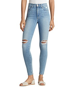 Joe's Jeans - The Charlie Ripped Skinny Ankle Jeans in Wallflower