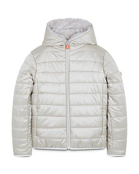 Save The Duck - Girls' Jack Reversible Puffer Coat - Little Kid, Big Kid