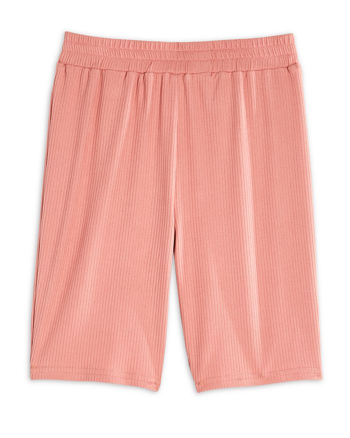 AQUA - Girls' Ribbed Biker Shorts - Big Kid - 100% Exclusive