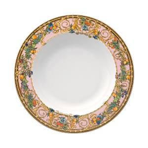 Rosenthal Meets Versace Butterfly Garden Rim Soup Bowl-Home