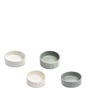 Park Life Designs - Classic Water & Food Bowls, Set of 2