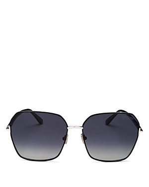 Tom Ford Women\\\'s Polarized Square Sunglasses, 62mm-Jewelry & Accessories
