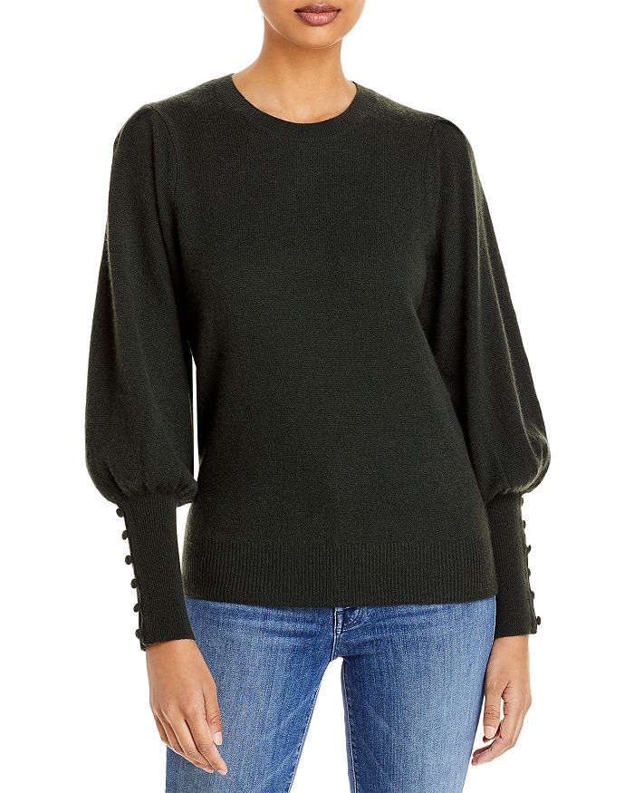 AQUA - Cashmere Balloon Sleeve Sweater - 100% Exclusive