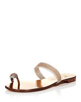 Giuseppe Zanotti - Women's Toe Ring Flat Sandals